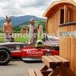 Wellness-Messe, Ausstellung mit Hotpot Gartenbad, Saunafass, Gartensauna