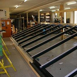 En construction dans nos ateliers
