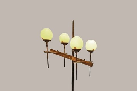 Stilnovo Floor Lamp - Italy, circa 1958