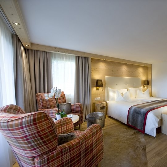 Herzlich Willkommen –im Golfhotel Les Hauts de Gstaad & SPA