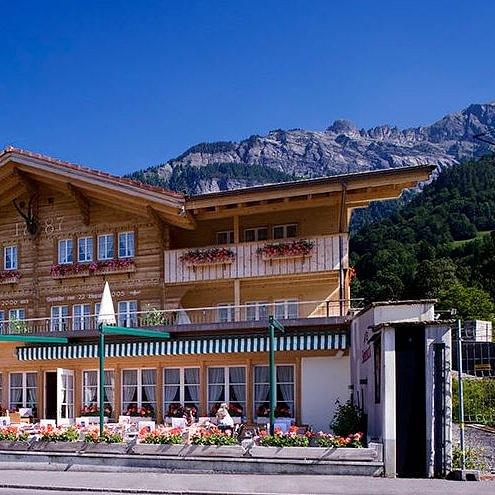 Restaurant, Hotel Steinbock Brienz Region Berner Oberland