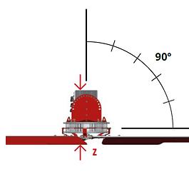 ZEFRIO Vertical 1.60 bis 3.00 Meter