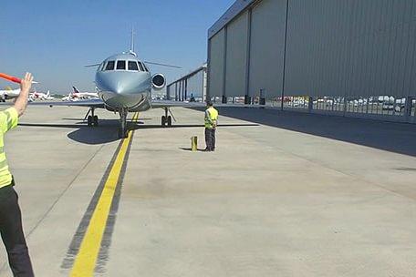 Business Jet Departures & Arrivals At LSGG