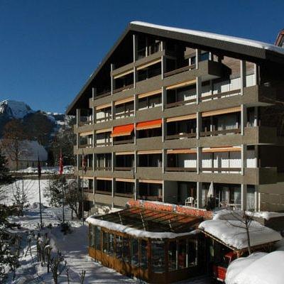 Hotel Residence im Winter