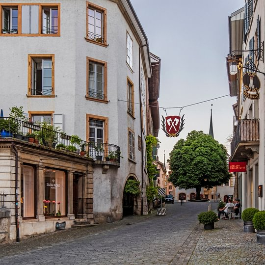 Vieille ville de Bienne