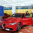 Fahrzeugübergabe Ausfahrt Alfa