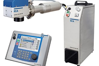 REA JET Faser Laser Kennzeichnungs Technologien