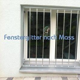 Fenstergitter nach Mass