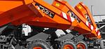 Transporteur sur chenilles / dumpers sur pneus