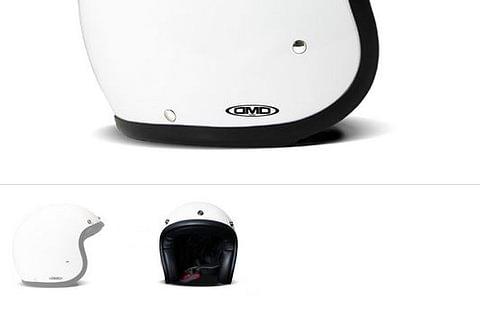 DMD Helmet solid white