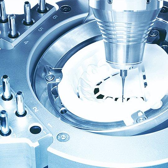 CAD-CAM milling by Zirkonzahn