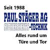 Paul Stäger AG, Sicherheits-Technik