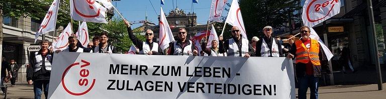 SEV - Gewerkschaft des Verkehrspersonals