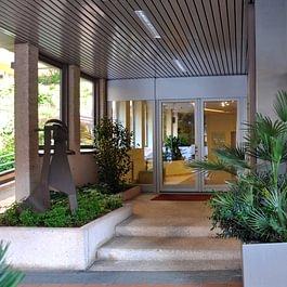 Il nostro studio di fisioterapia e riabilitazione, situato in centro a Lugano, nella vecchia Piazza Monte Ceneri.