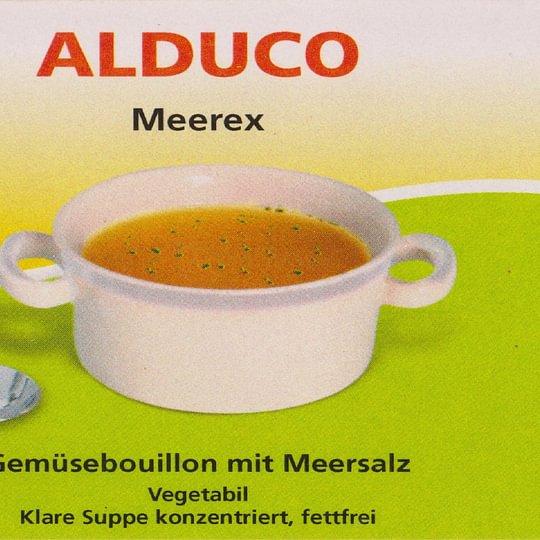 Fettfreie Gemüsebouillon mit Meersalz (als Paste oder Pulver)