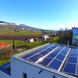 Solaranlage Reitnau