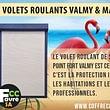 Volets roulants Valmy & Massena Certifié A2P R2 contre l'effraction, c'est la protection idéale pour les habitations et les locaux professionnels.