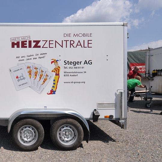 Mobile Heizzentrale