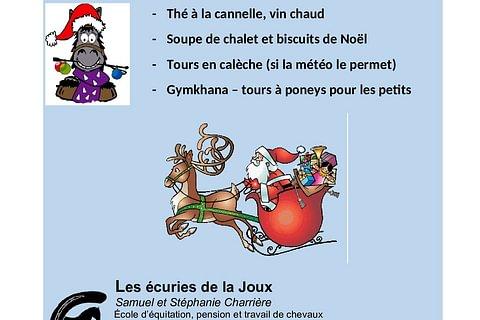 Fête de Noël aux Ecuries de la Joux !!