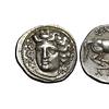 Tessaglia - Larissa, Dracma circa 350-340, AR 6.07g.