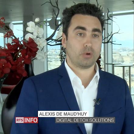 Interview d'Alexis de Maud'huy, fondateur de Coaching émotionnel, au journal 19:30 de la RTS le 22 mars 2018