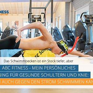 ABC Fitness - mein persönliches Training für gesunde Schultern und Knie: Damit ich auch gegen den Strom schwimmen kann :-)