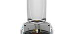 I-Mop XL autolaveuse manuelle, équipée d'une tête de nettoyage avec deux brosses