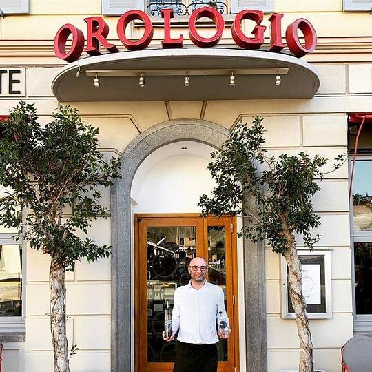 Alex Moscatelli Ristorante Orologio Lugano