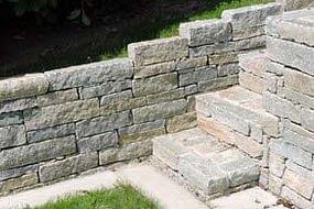 Treppen, Mauern
