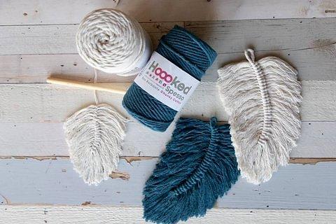 NEU: Hoooked SPESSO Chunky Cotton für Makramée