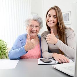 Betreuung für Alt und Jung
