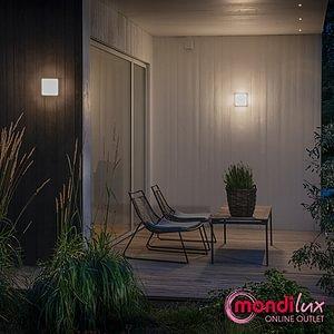 CESENA High Power LED Wand- und Deckenleuchte mit Dämmerungssensor