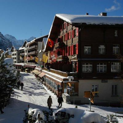 Hotel Bernerhof im Winter