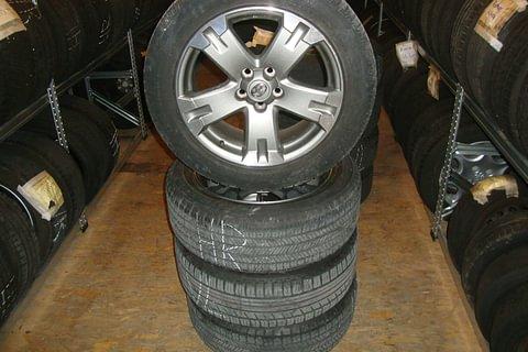 Reifen- Felgenlagerung
