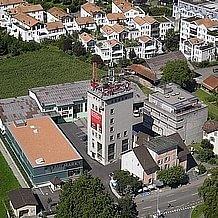Luftaufnahme Areal Brauerei Baar 2008