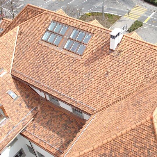 Bernhard Dach & Fassaden AG, Steildach