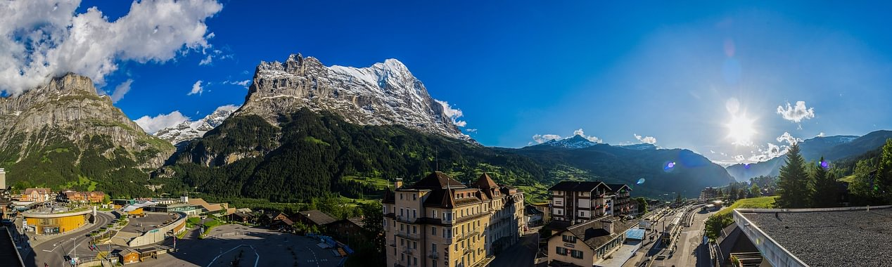 Eiger view from room