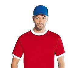 T-shirt con profili bianchi + Cappellino cotone