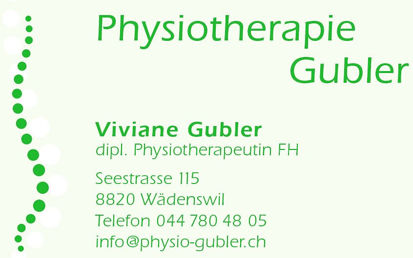 Physiotherapie Gubler