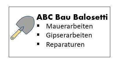 ABC Bau Balosetti