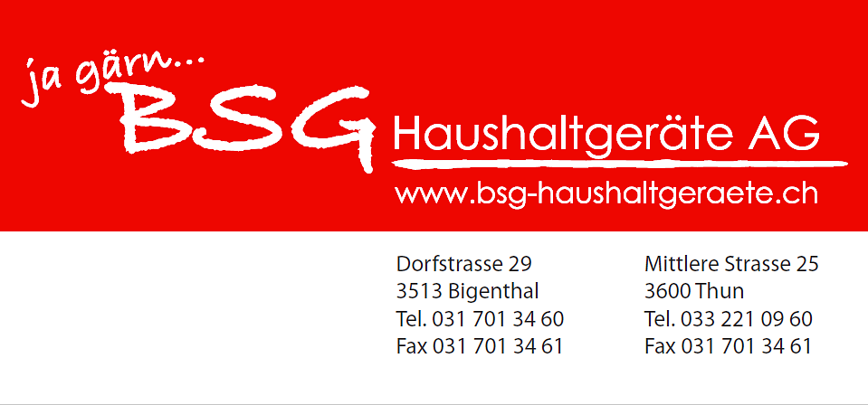 BSG Haushaltgeräte AG