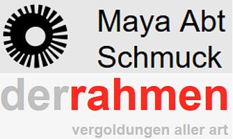 Maya Abt Schmuck und der Rahmen
