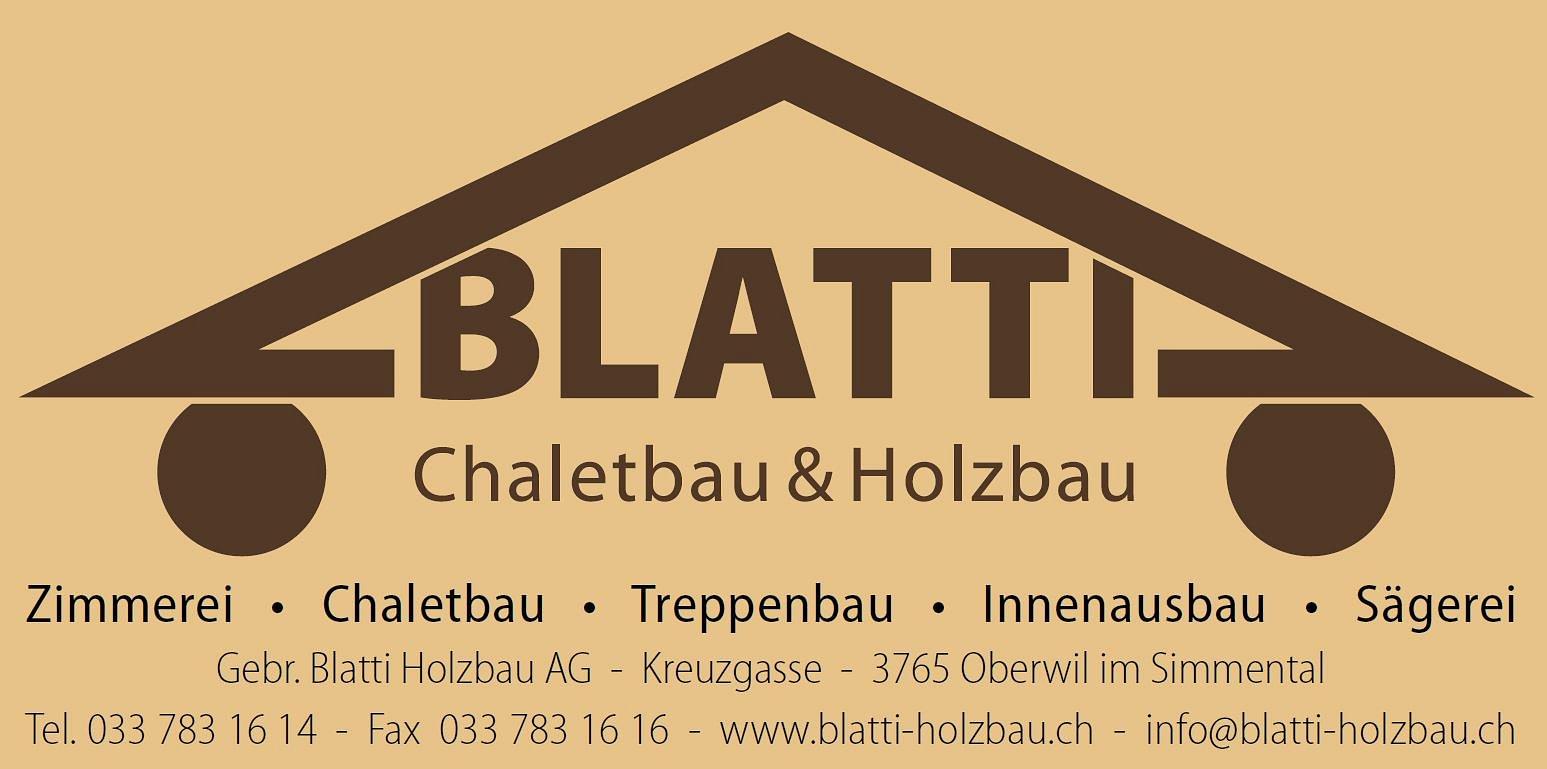 Blatti Gebr. Holzbau AG