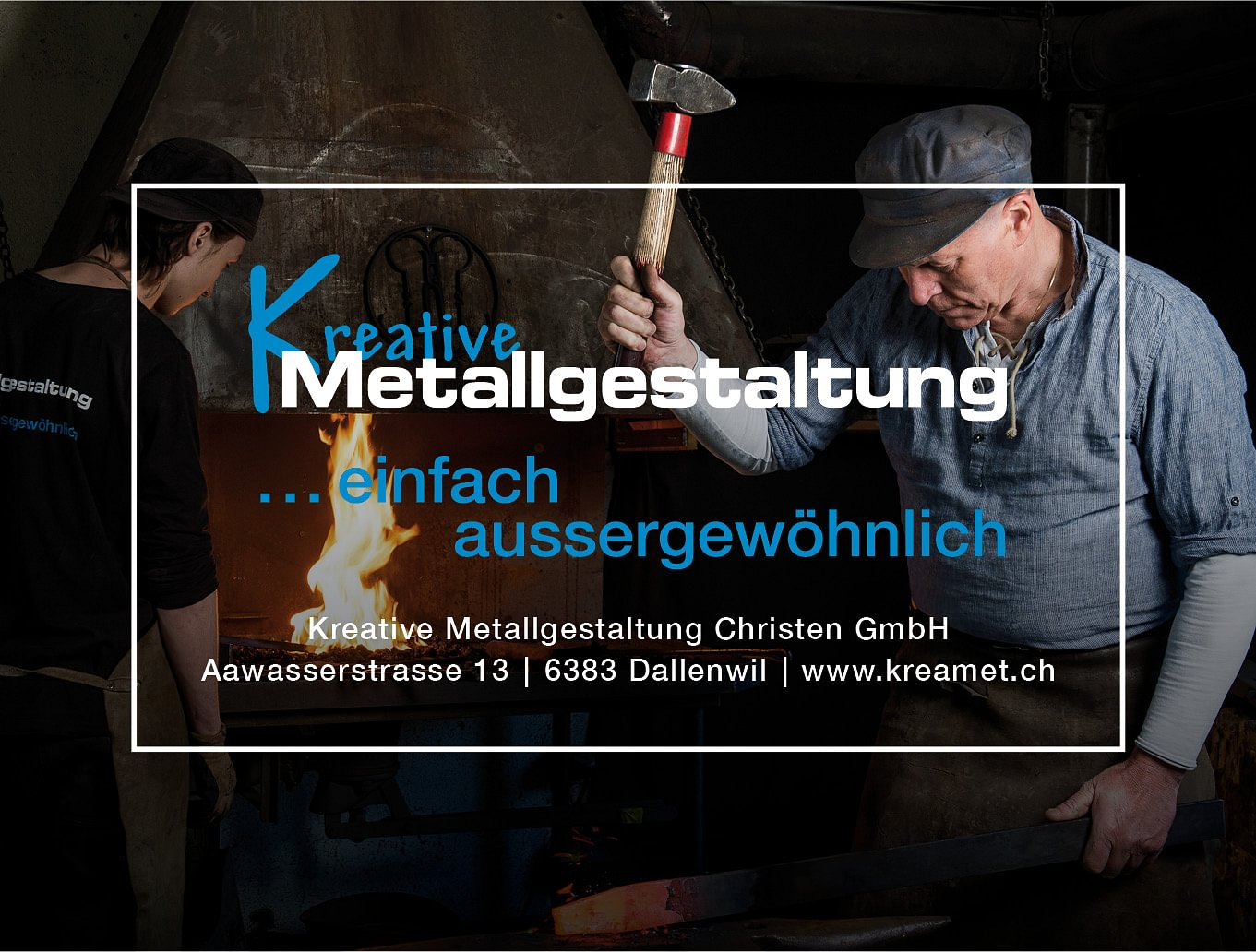 Kreative Metallgestaltung Christen