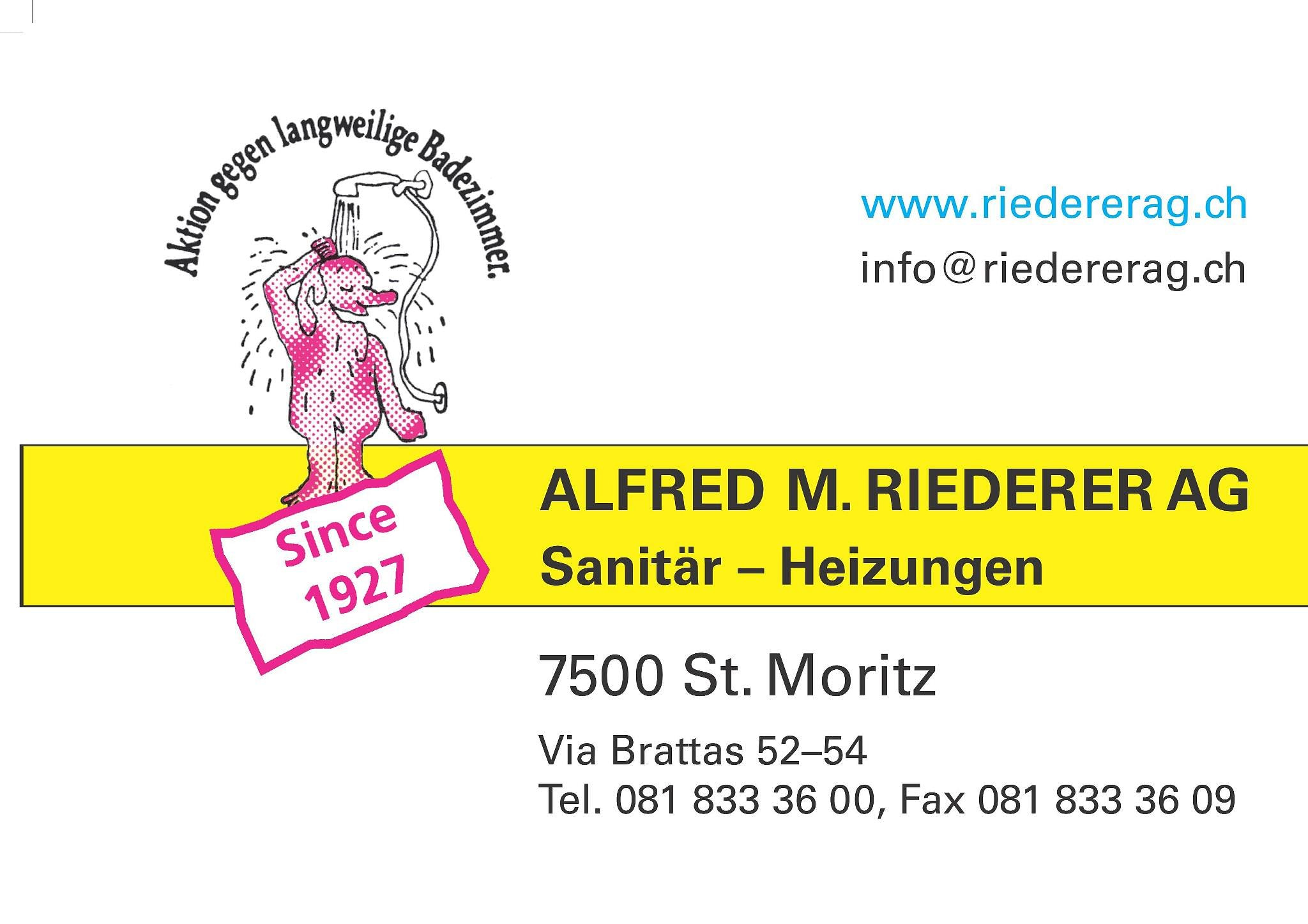 Alfred M. Riederer AG