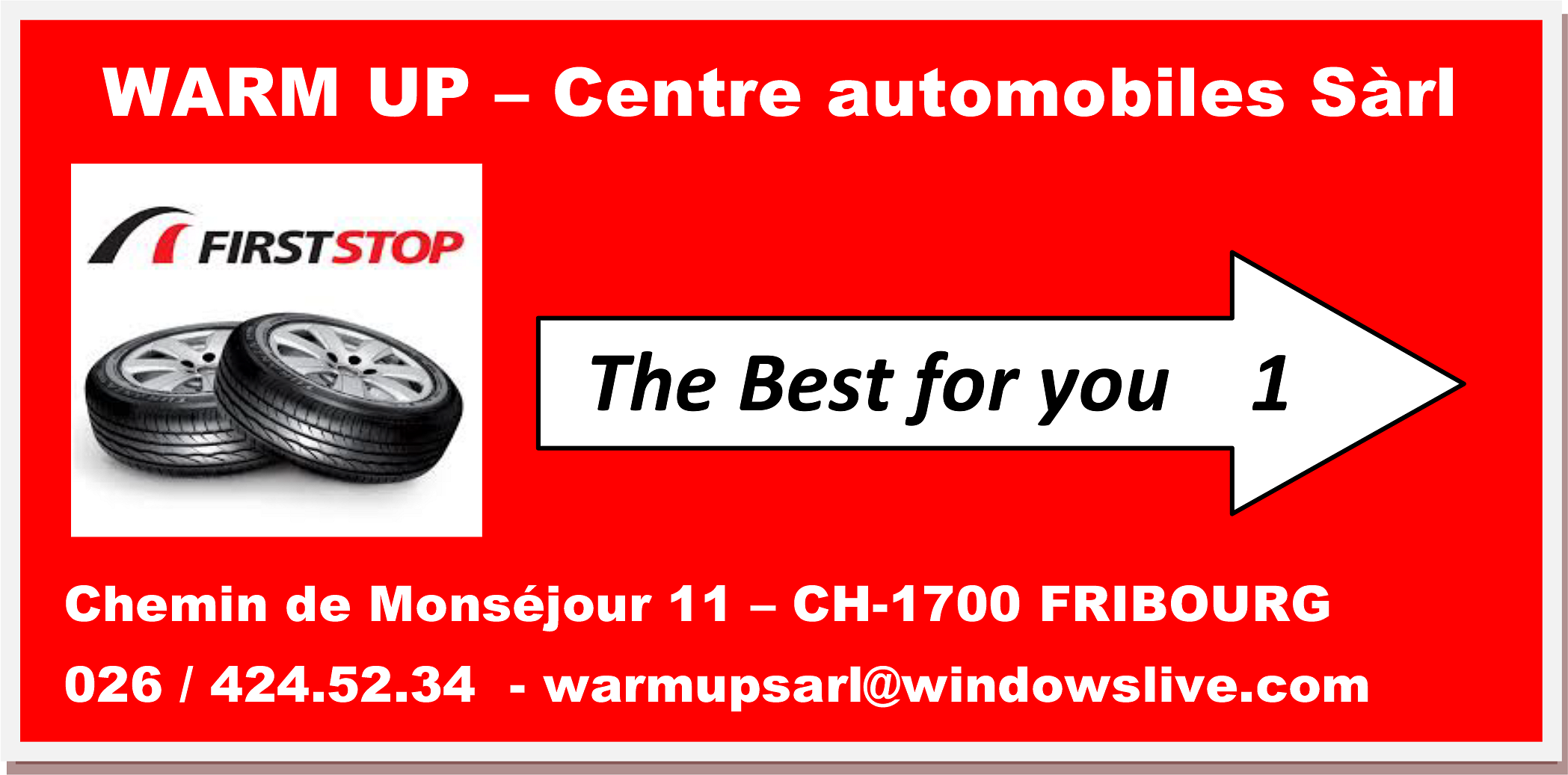 WARM UP Centre automobiles Emery P.