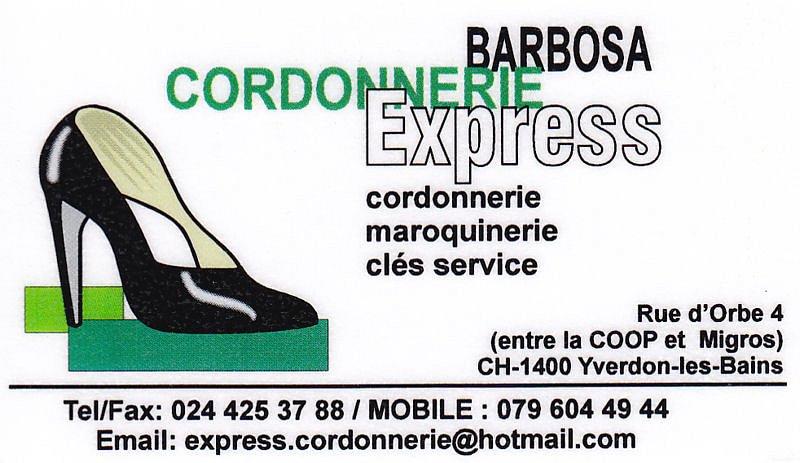Barbosa Cordonnerie Express