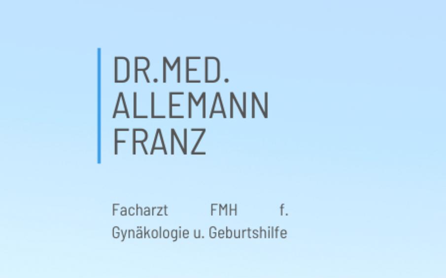 Dr. med. Allemann Franz