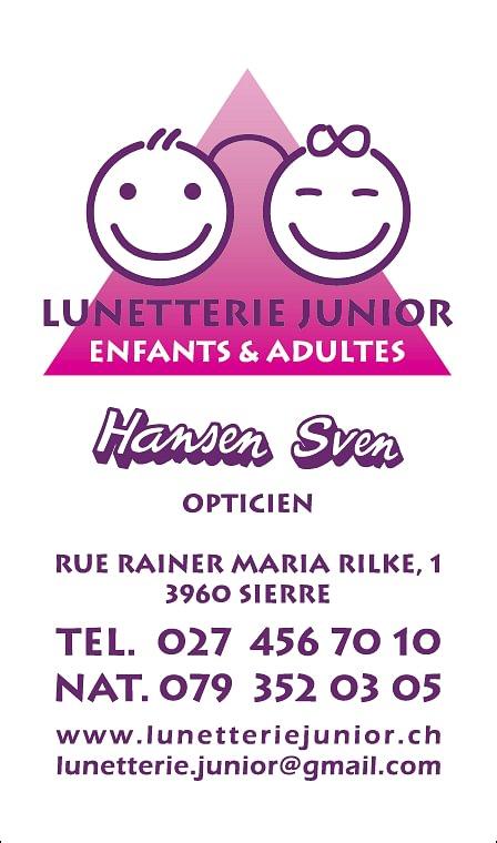Lunetterie Junior