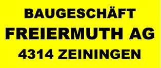 Baugeschäft Freiermuth AG